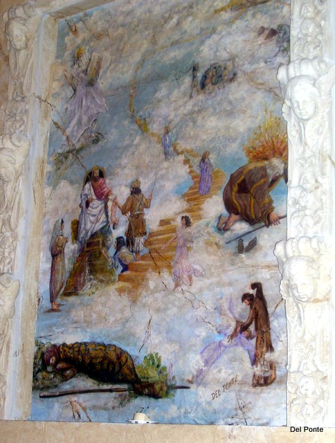 Biblical Mural design & painted by DEL PONTE