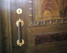 Detalj av Illusionsmålad dörr