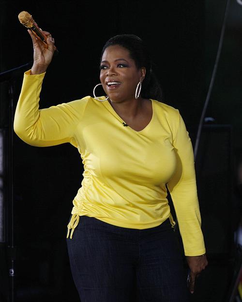 oprah gets naked on show