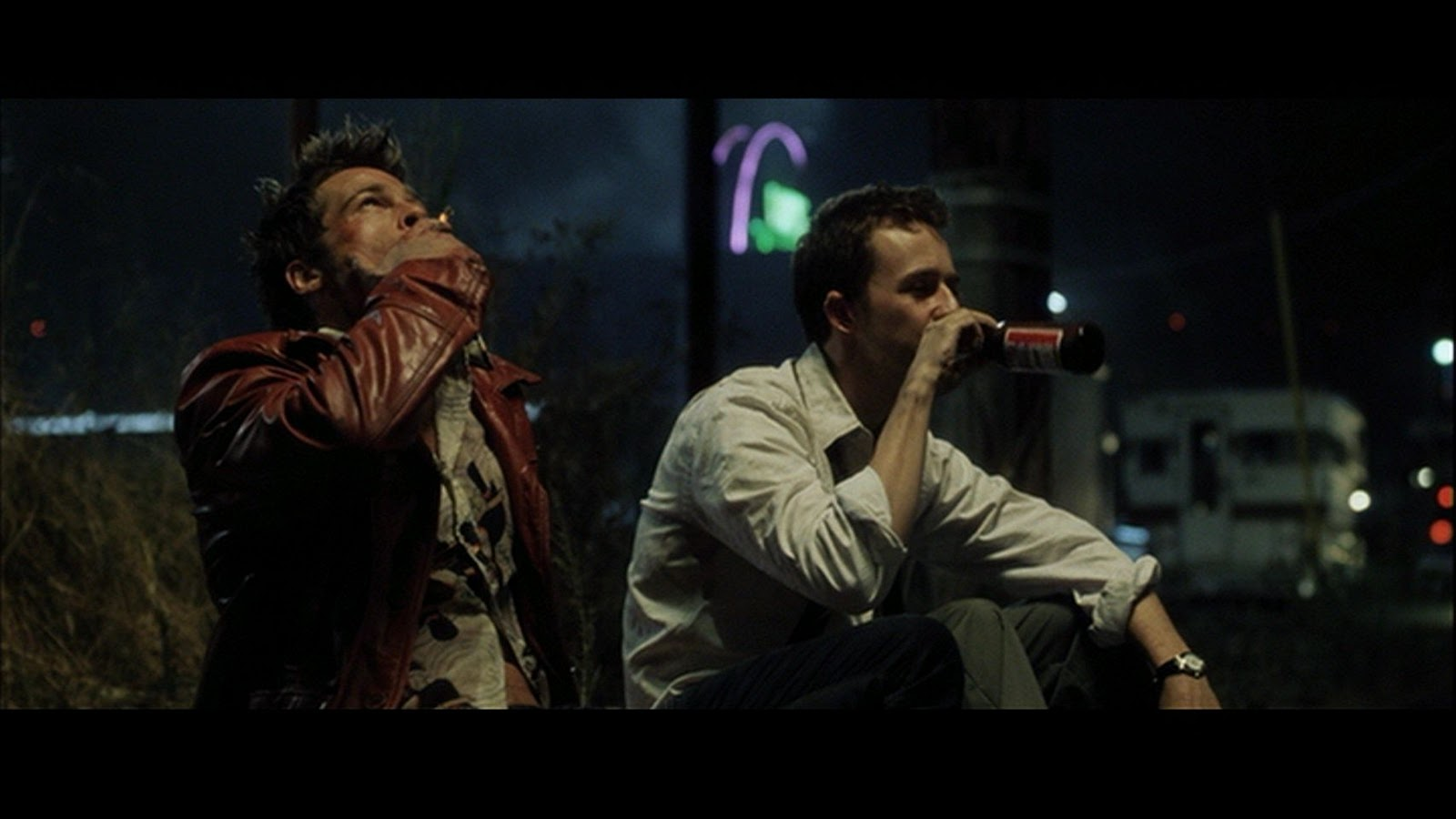 Fight club consumerism scene