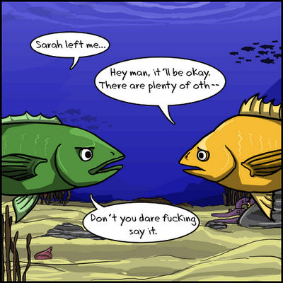 Fish On Questions Of Plenty