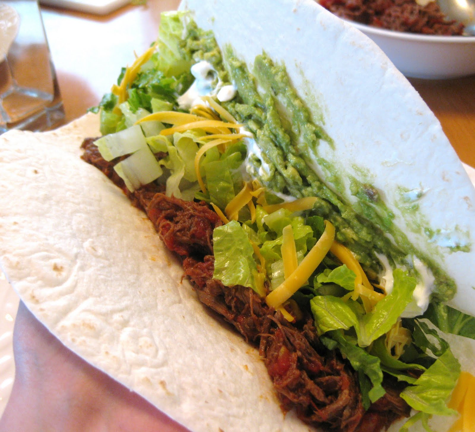 Sarah's Fares: Leftover Roast - Beef Tacos