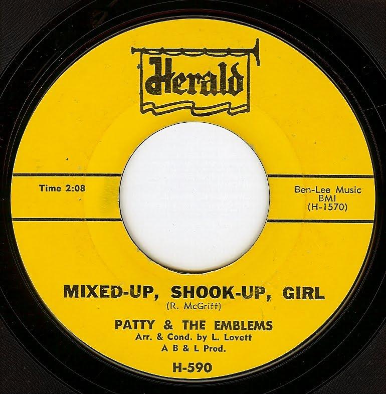 shes a mixed up shook up girl From the 1977 debut album cabretta ( known as mink de ville in the us) - the song is about a drug addict friend of willy's - he said she was.