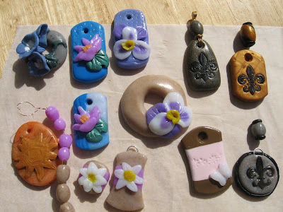 polymer clay eye candy