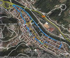 Imagen GPS del circuito