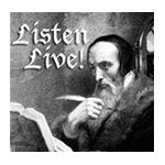 listen live, this theologian does!