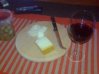 Parmesan og rødvin!
