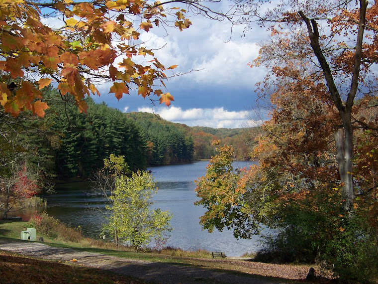 Lake Hope in the Fall