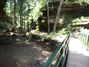 Hocking Hills State Park hiking trails