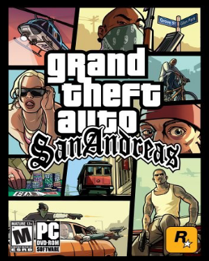bermain GTA San Andreas