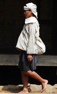 A member of the Outer Baduy