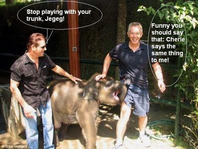 Tony Blair visits Bali!