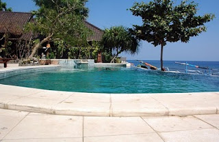 Swimming pool, Double One Amed Bali