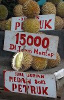 Durians in Jakarta