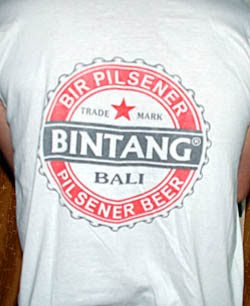 beer bintang singlet from Bali