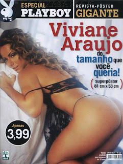 Especial Playboy - Viviane Araujo - Revista Pôster Gigante