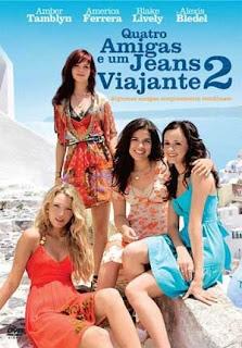 Quatro Amigas e um Jeans Viajante 2 (Dublado) DVDRip