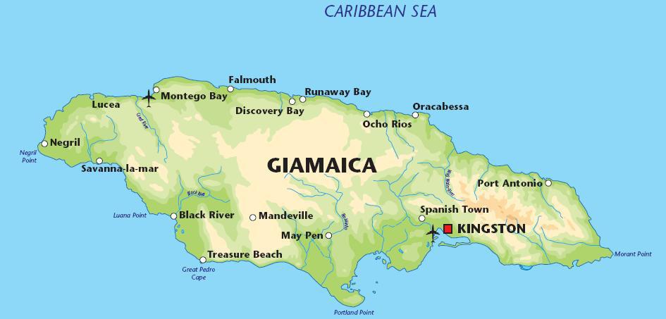 Geopolitica Stati Del Mondo 69 Giamaica