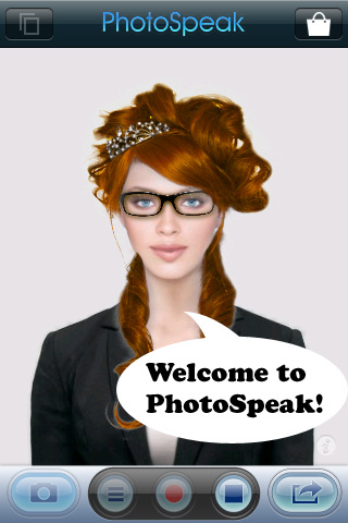 Download fun hairstyles, glasses, masks, and beards,