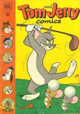 tom and jerry - golf- comics