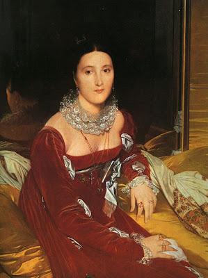 ingres - madame de senonnes