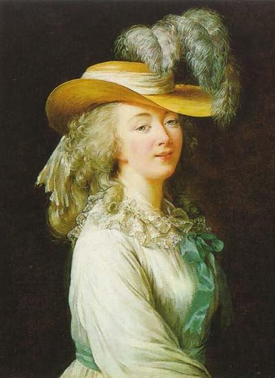 elisabeth vigee lebrun - madame du berry