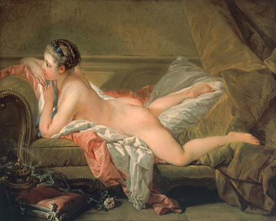 François Boucher - l'Odalisque blonde