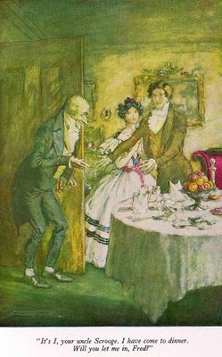 arthur rackham - illustration a christmas carol 1915