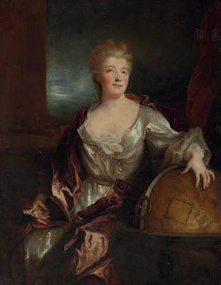 Nicolas de Largillierre  - Emilie du Chatelet