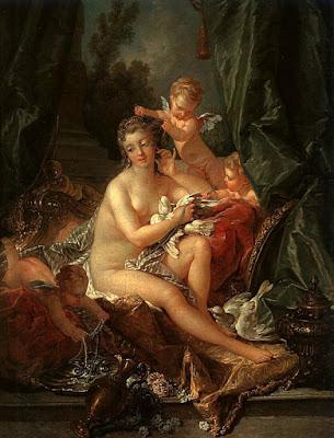 François Boucher - la toilette de Vénus -1751
