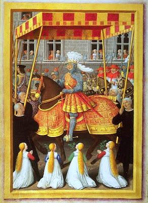 Entrée de Louis XII  à Gênes reconquise  en mai 1507