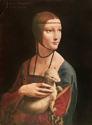 Leonardo da Vinci - Lady with an Ermine