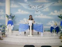 Ministrando a Palavra de Deus na Sede Taboão
