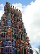 Hindu Temple in Fiji