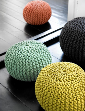 The blog around the corner huset pouf - Design pouf ...
