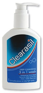 clearasil facial cleanser