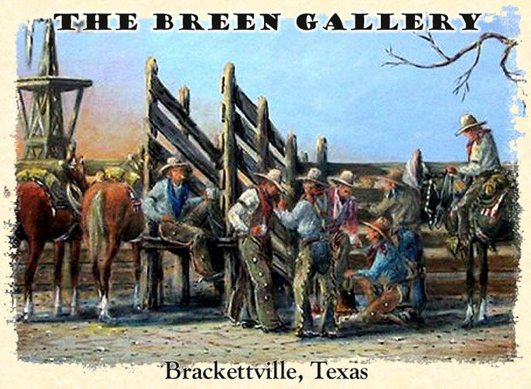 Original Oil Paintings of the Old West by Bud Breen