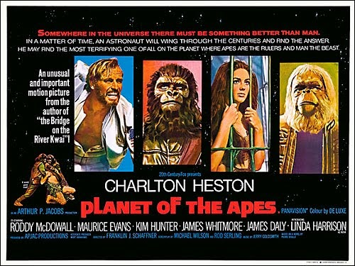 a review of the science fiction planet of the apes A dvd review by glenn erickson (dvd as the science fiction film of doing the same to the ape planet planet of the apes may be more accessible than 2001 but.