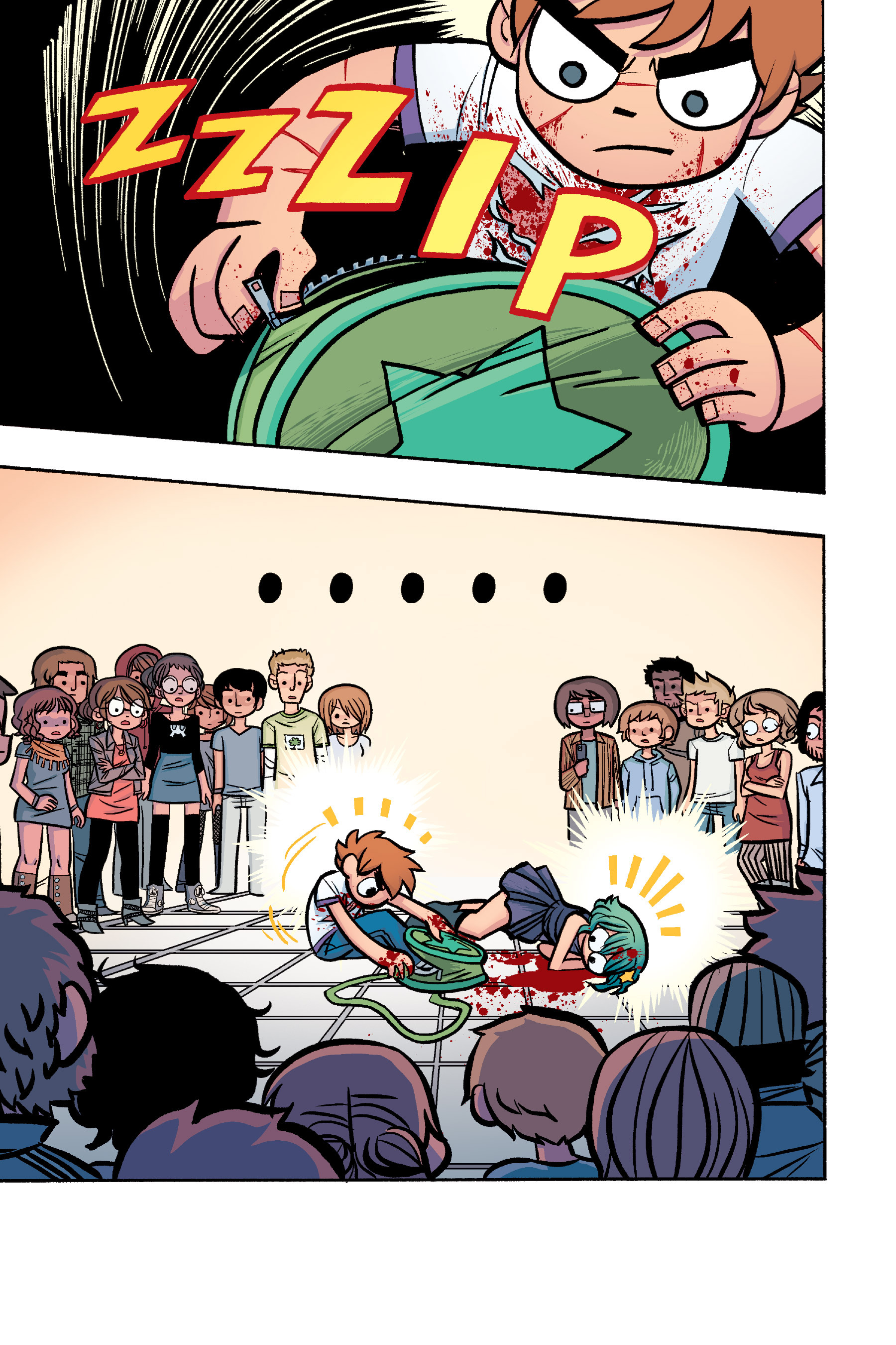 Read online Scott Pilgrim comic -  Issue #6 - 166