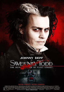 Sweeney Todd - The Demon Barber Of Fleet Street (2007) poster