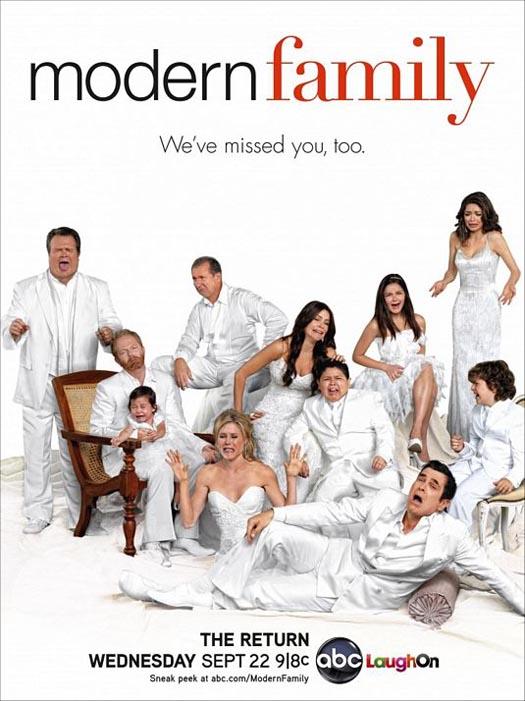series modern family season 2 2010