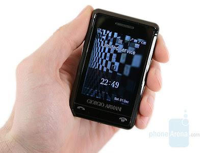 Samsung Giorgio Armani Multimedia Phone image