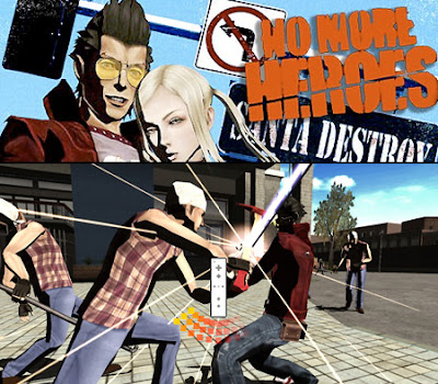 New No More Heroes Wii Trailer