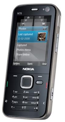 Nokia N78 snapshot