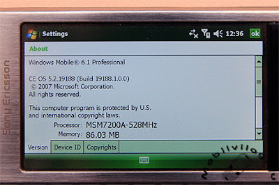 About Windows Mobile 6.1 GI