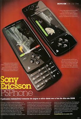 sony Ericsson psphone Mobile
