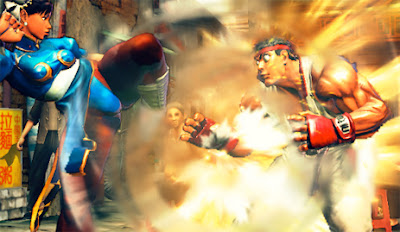 Street fighter IV snapshot