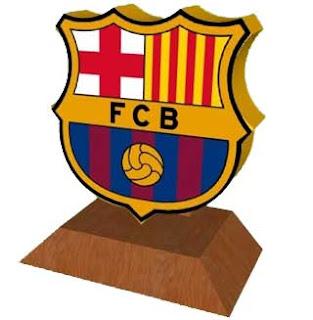 FC Barcelona Emblem Papercraft