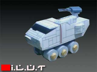 Indo Lunar Tank Papercraft