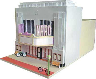 Naro Cinema Papercraft